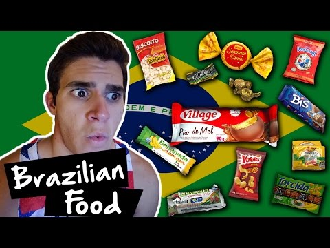 American Tries Brazilian Food!!! | Universal Yums Box