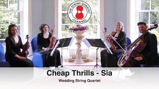 Cheap Thrills Sia Wedding String Quartet 4K