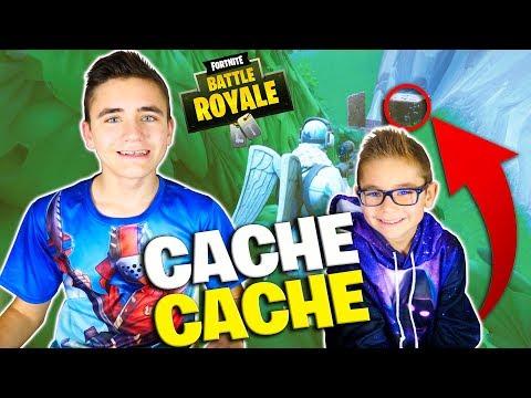 CACHE-CACHE FORTNITE ENTRE FRÈRES - Swan The Voice VS Néo The One