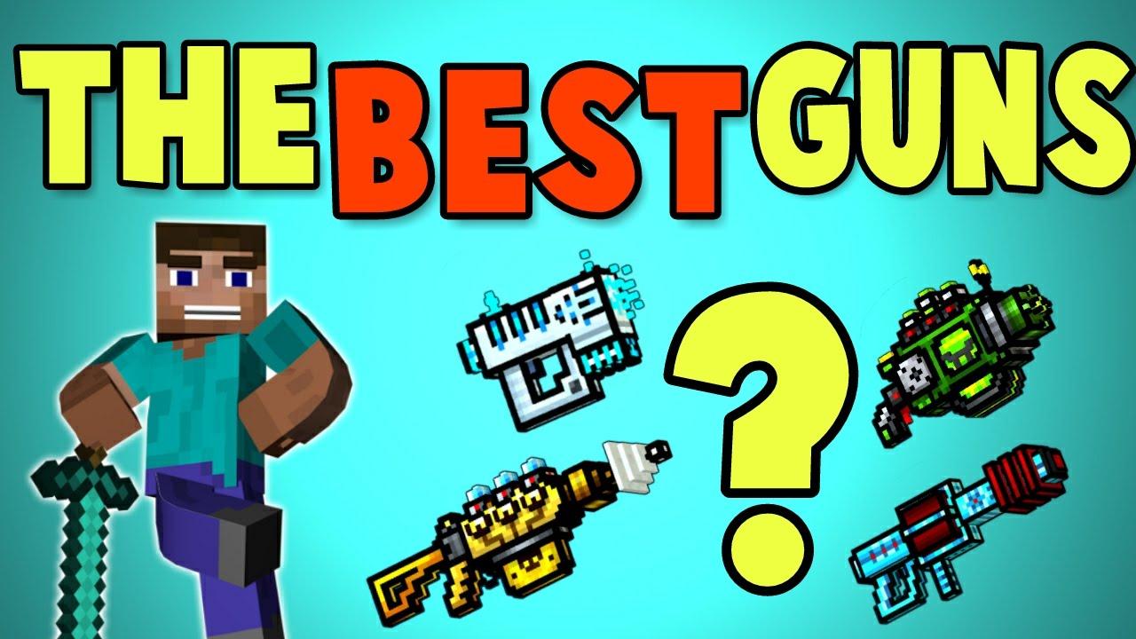 best gun in pixel gun 3d