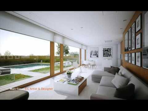 desain ruang tamu nuansa hijau Desain Interior Ruang Tamu ...