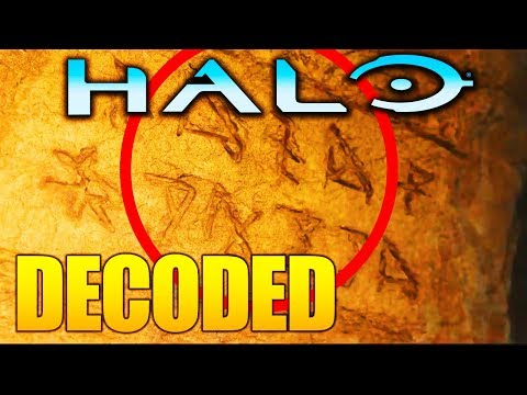 Halo Infinite TEXT DE-CODED! New HIDDEN CLUE IN TRAILER!