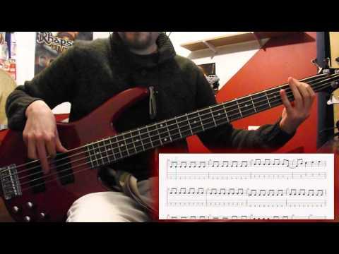 Digimon - Digievolucion - Brave Heart - (Bass cover/tab)