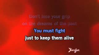 Eye Of The Tiger karaoke Video