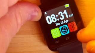 Fake U8 Cheap Smartwatch Teardown Review