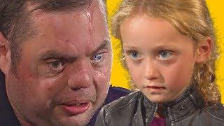 Injured Veteran and Little Girl Share Heartwarming Meeting