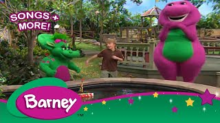 Barney|Row Row Row Your Boat|SONGS for Kids