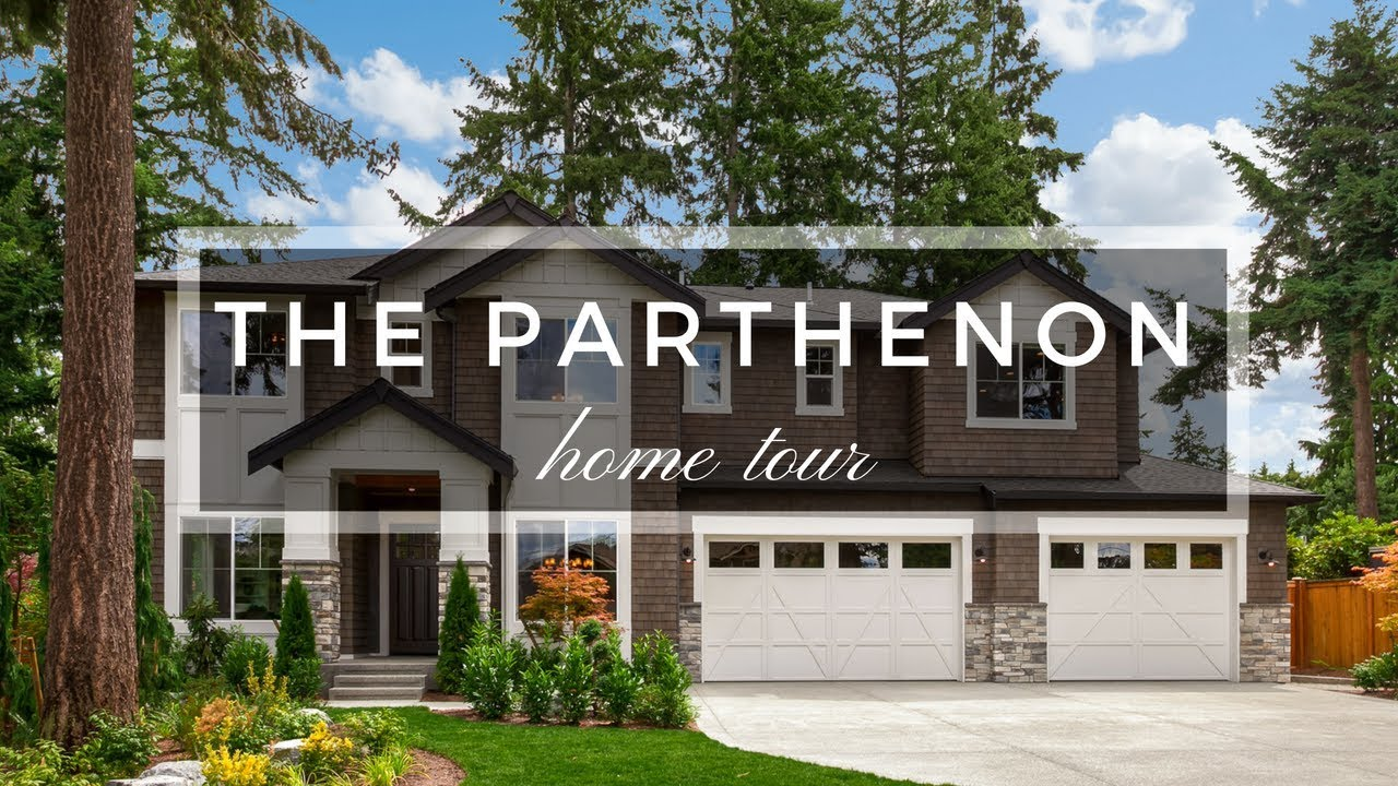 The Parthenon Home Design by JayMarc Homes - YouTube
