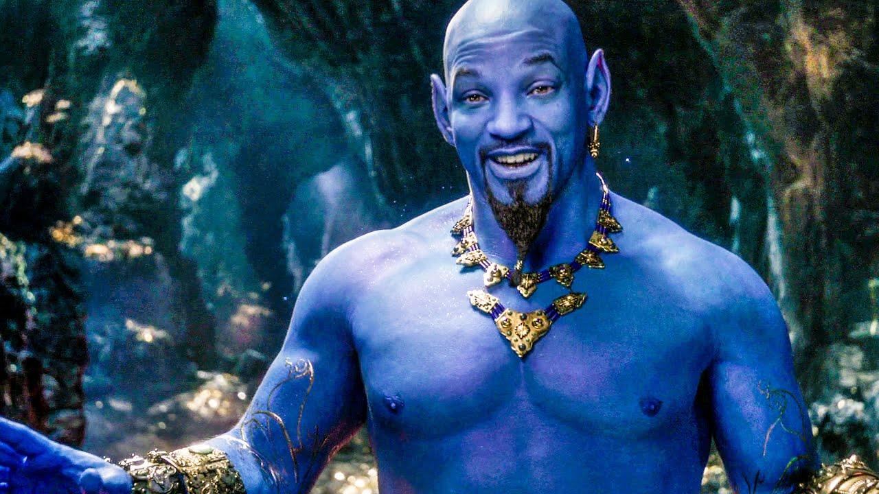 Aladdin Meets Genie - ALADDIN Teaser Trailer 2 (2019) - YouTube