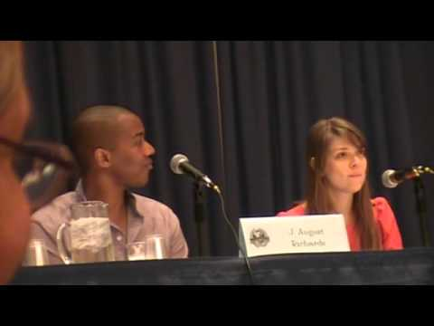 Dragon*Con 2012 - J. August Richards and Amber Benson