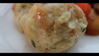 Recipe For Bread Dumplings - Delicious Example Of Austrian, Czech And German Cuisine - Bread