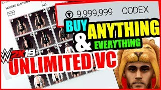 WWE2K19 - How to USE CHEAT ENGINE to Get Unlimited VC (Unlock Everything in My Career)