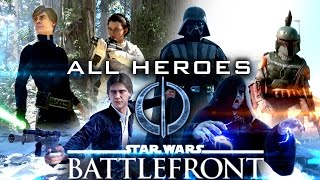 Star Wars Battlefront: ALL HEROES - PC Ultra Gameplay [60fps]