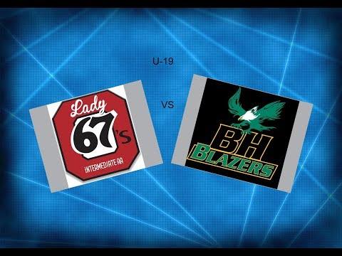 JWHL  Ottawa vs Balmoral Hall U-19  2018  ( Ridder Arena )