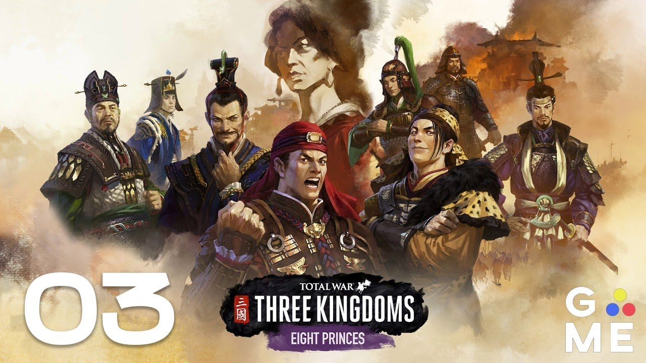 Total War: THREE KINGDOMS - Eight Princes | Sima Lun - Let's Play | Episode  3 [Back and Forth]