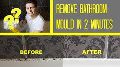 HOW TO REMOVE BATH / SHOWER MOLD | BATHROOM MOULD REMOVAL