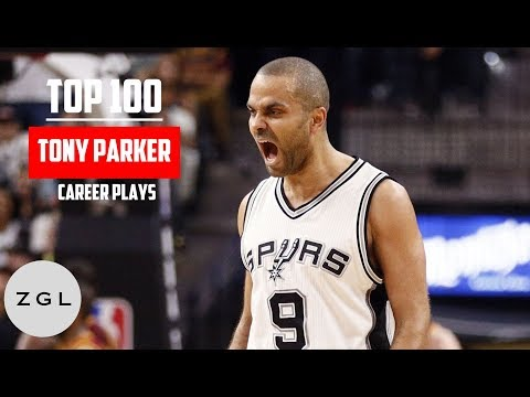 Tony Parker Top 100 Plays