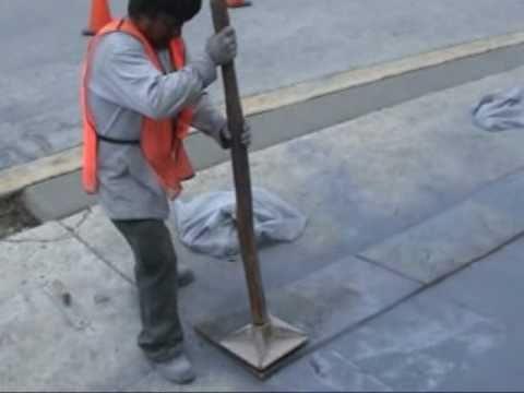 Preceso de elaboraci n de un piso estampado de concreto - Como hacer un piso de hormigon ...