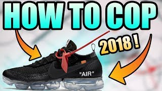 How To Get The OFF WHITE NIKE VAPORMAX ! | Two New Nike Off White Vapormaxes !