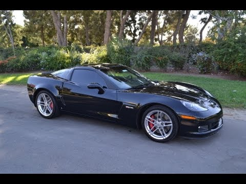 Zo6 Corvette For Sale >> SOLD 2007 Corvette Z06, Black w/Ebony/Red interior, 427/505hp, 6-spd manual for sale Corvette ...