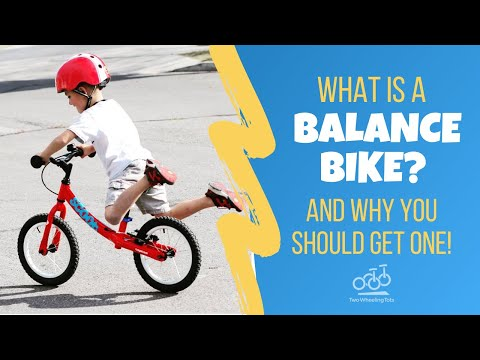 What is a Balance Bike?   Pedal-less Bicycle for Toddlers & Kids