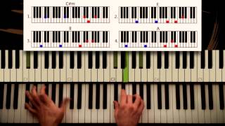 Скачать How To Play Counting Stars Onerepublic ORIGINAL Piano Lesson Tutorial By Piano Couture