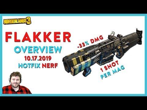 Flak The World | Borderlands 3 | Flakker Legendary Shotgun