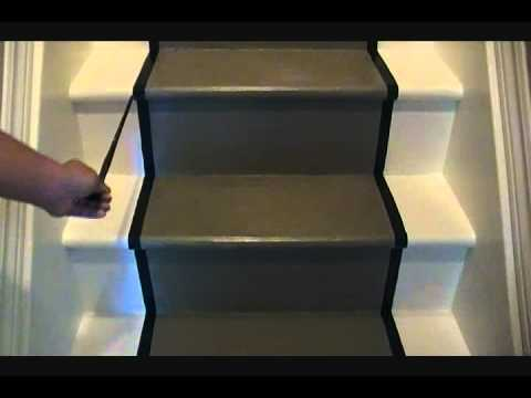 Refurbishing Your Stairs Painted Runner Kelly Mitchelmore Youtube