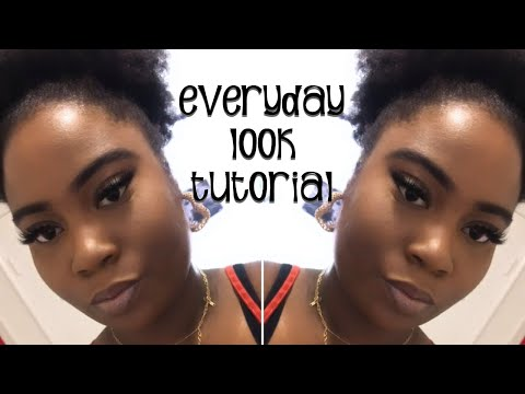 MY GO TO EVERYDAY MAKEUP TUTORIAL MADE EASY thumbnail