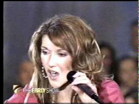 Early Show - That's The Way It Is -  Celine Dion