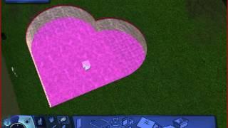 Как построить бассейн в игре The Sims 3(три вида : 1)сердечко 2)фигурный 3)круглый., 2016-07-20T20:59:49.000Z)