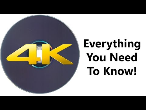 4K/Ultra HD Blu-Ray Discs: Everything You Need To Know! (Release Date, Players, Movies)