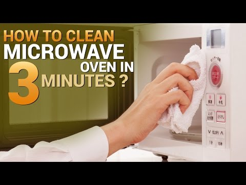 How To Clean Microwave Oven In 3 Minutes?