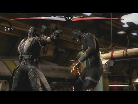 Injustice: Gods Among Us DLC - Red Son Deathstroke vs