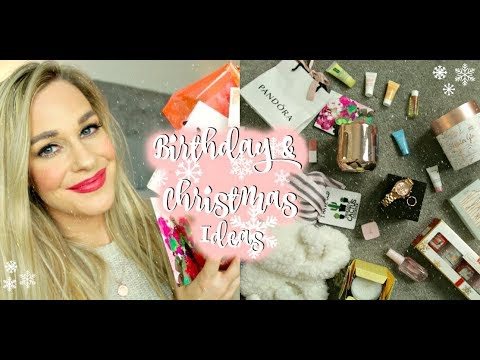 WHAT I GOT FOR MY BIRTHDAY & CHRISTMAS GIFT IDEAS! 2017 | Annaban