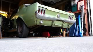 Scott Drake dual exhaust,  on 67 Mustang, 289