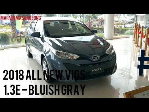 Toyota VIOS 1.3E | Grayish BLUE (Philippines)