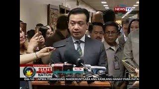 SONA: Ilang senador, may agam-agam sa pagkakaaresto kay Sen. Trillanes