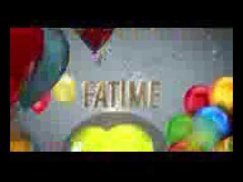 Ad günü mahnısı Fatime