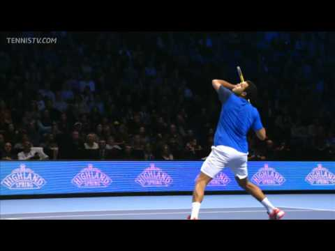 Federer vs Tsonga WTF London 2011 Final Full Match HD !!!