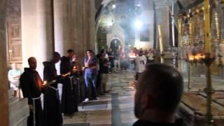 Храм гроба господня. католическая служба. отрывок(, 2015-09-09T10:10:26.000Z)