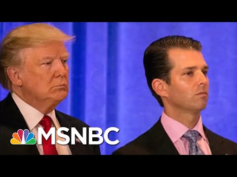 President Donald Trump Camp Shifts Talking Points On Possible Collusion | Rachel Maddow | MSNBC