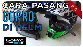 Cara Pasang GoPro di Helm Supermoto Motorcross Trail | Motovlog Indonesia #10