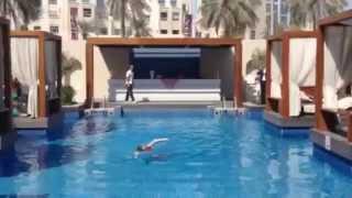 Geordiebird, inspired at Vida Downtown Dubai