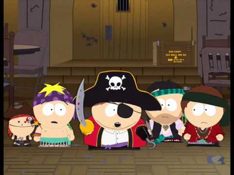 Cartman pirates song (good quality) - YouTube