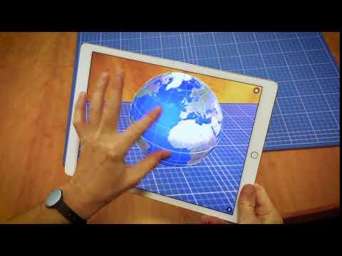 3D Globe in AR with Sketchfab