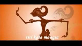 TITI KALA MANGSA   Sujiwo Tejo