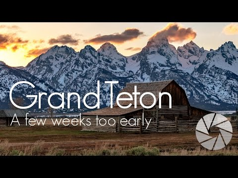 National Parks Road Trip to Wyoming & Grand Teton | Landscape Photography