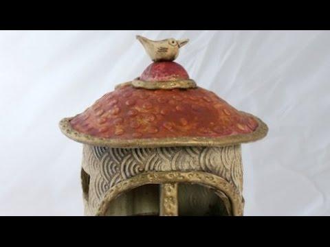 keramik vogelfutter haus youtube. Black Bedroom Furniture Sets. Home Design Ideas