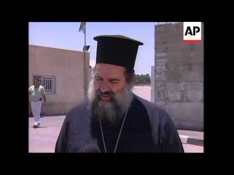 Protesters celebrate demotion of controversial patriarch